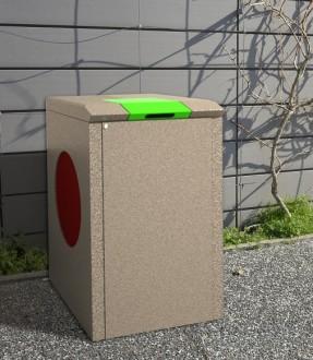 Abri container poubelle 150 L - Devis sur Techni-Contact.com - 1