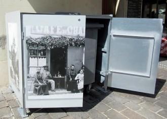 Abri conteneur décoré personnalisé Abribac - Devis sur Techni-Contact.com - 2