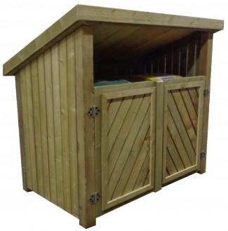 Abri conteneur en bois - Devis sur Techni-Contact.com - 1
