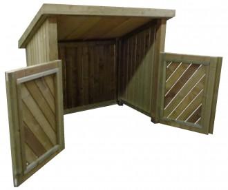 Abri conteneur en bois - Devis sur Techni-Contact.com - 2