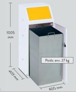 Abri conteneur poubelle - Devis sur Techni-Contact.com - 1