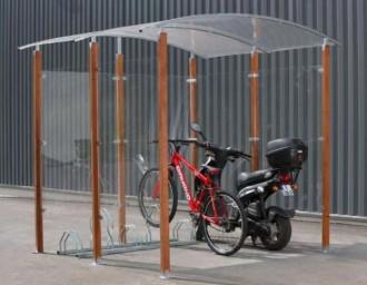 Abri cycles 2 roues - Devis sur Techni-Contact.com - 1