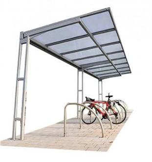 Abri cycles à toit plat - Devis sur Techni-Contact.com - 2