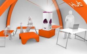 Abri autonome gonflable tout en un - Devis sur Techni-Contact.com - 1