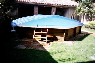 Abri piscine bas - Devis sur Techni-Contact.com - 2