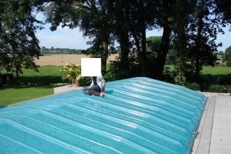 Abri piscine bas - Devis sur Techni-Contact.com - 3