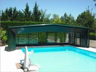Abri piscine mi-haut - Devis sur Techni-Contact.com - 2