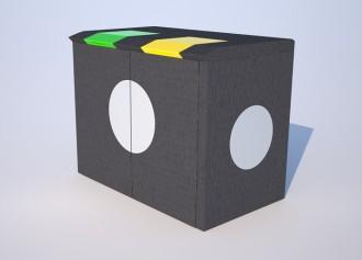 Abri poubelle en béton - Devis sur Techni-Contact.com - 1