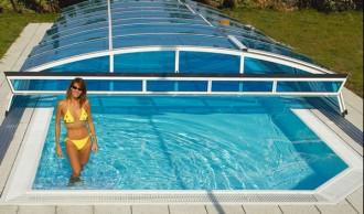 Abri pour piscine bas télescopique - Devis sur Techni-Contact.com - 2
