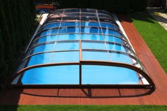 Abri pour piscine bas télescopique - Devis sur Techni-Contact.com - 3