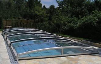 Abri pour piscine bas télescopique - Devis sur Techni-Contact.com - 5