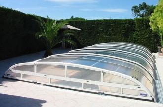 Abri pour piscine bas télescopique - Devis sur Techni-Contact.com - 6