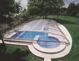 Abri pour piscine bas télescopique - Devis sur Techni-Contact.com - 7