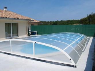 Abri pour piscine bas télescopique - Devis sur Techni-Contact.com - 8