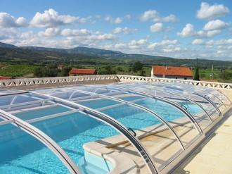 Abri pour piscine bas télescopique - Devis sur Techni-Contact.com - 9
