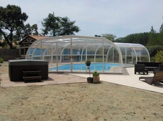 Abri pour piscine haut fixe - Devis sur Techni-Contact.com - 10