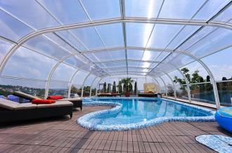 Abri pour piscine haut fixe - Devis sur Techni-Contact.com - 2