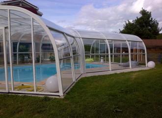 Abri pour piscine haut fixe - Devis sur Techni-Contact.com - 4