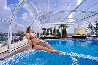 Abri pour piscine haut fixe - Devis sur Techni-Contact.com - 5