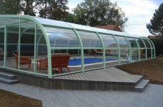 Abri pour piscine haut fixe - Devis sur Techni-Contact.com - 7
