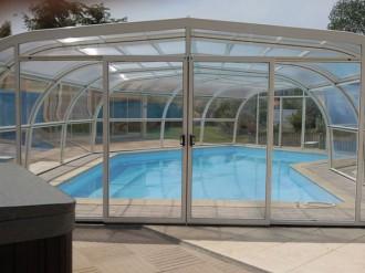 Abri pour piscine haut fixe - Devis sur Techni-Contact.com - 8