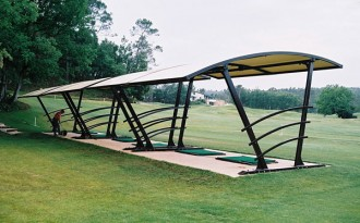 Abri practice golf - Devis sur Techni-Contact.com - 1