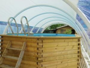 Abri rétractable piscine - Devis sur Techni-Contact.com - 1
