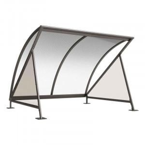 Abri vélo demi lune - Devis sur Techni-Contact.com - 1
