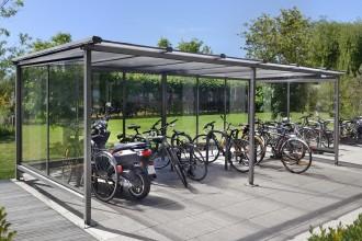 Abri vélos 2 roues - Devis sur Techni-Contact.com - 1