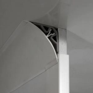 Profilé de finition femelle en PVC  - Devis sur Techni-Contact.com - 2