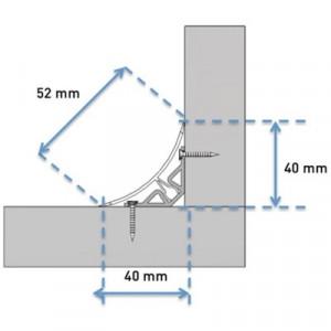 Profilé de finition mâle PVC  - Devis sur Techni-Contact.com - 3