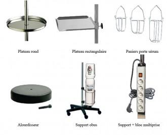 Accessoires pour pied porte sérum - Devis sur Techni-Contact.com - 1