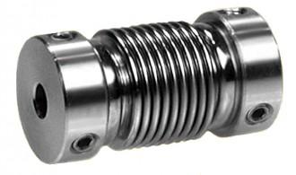Accouplement flexible à soufflet en bronze nickelé - Devis sur Techni-Contact.com - 1