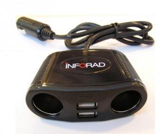Adaptateur allume-cigare et ports USB - Devis sur Techni-Contact.com - 1