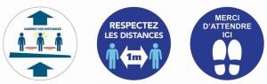 Adhésif pour distance de sécurité - Devis sur Techni-Contact.com - 4