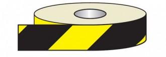 Adhésif réfléchissant jaune et noir petit format - Devis sur Techni-Contact.com - 1
