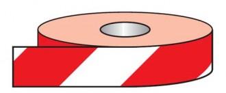 Adhésif réfléchissant rouge et blanc petit format - Devis sur Techni-Contact.com - 1