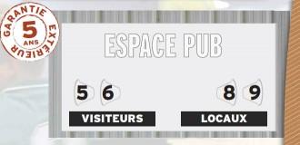 Afficheur score manuel multisports - Devis sur Techni-Contact.com - 1