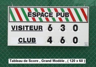 Afficheur score tennis manuel - Devis sur Techni-Contact.com - 3