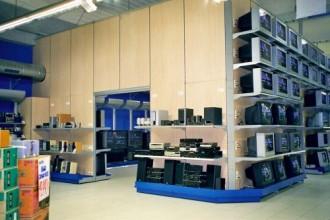 Agencement espace TV en hypermarché - Devis sur Techni-Contact.com - 1