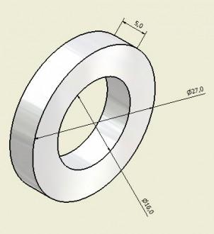 Aimant anneau magnétisé - Devis sur Techni-Contact.com - 1