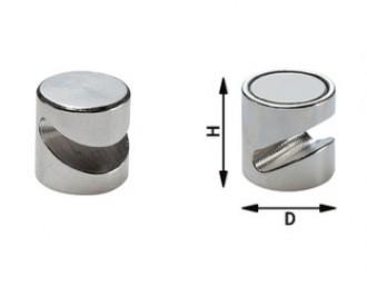 Aimants de décoration en ferrite dure laqué blanc - Devis sur Techni-Contact.com - 2