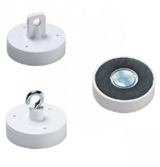 Aimants de décoration en ferrite dure laqué blanc - Devis sur Techni-Contact.com - 3