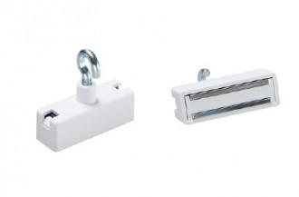 Aimants de décoration en ferrite dure laqué blanc - Devis sur Techni-Contact.com - 6