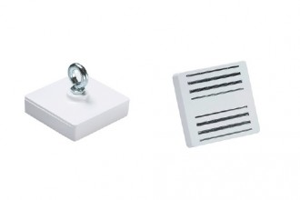Aimants de décoration en ferrite dure laqué blanc - Devis sur Techni-Contact.com - 8