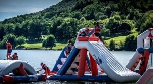 Aire de jeux aquatiques gonflables 105 personnes - Devis sur Techni-Contact.com - 1
