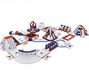 Aire de jeux aquatiques gonflables 105 personnes - Devis sur Techni-Contact.com - 4