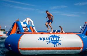 Aire de jeux aquatiques gonflables - Devis sur Techni-Contact.com - 3