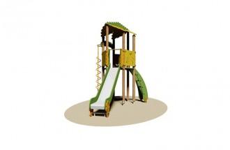 Aire de jeux d'extérieur pour enfants - Devis sur Techni-Contact.com - 1