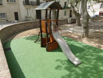 Aire de jeux en bois sur mesure - Devis sur Techni-Contact.com - 1